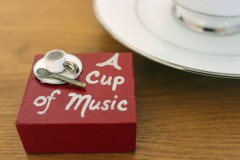 """Cup of Music"" red"