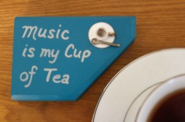 """Cup of Music"" blue"