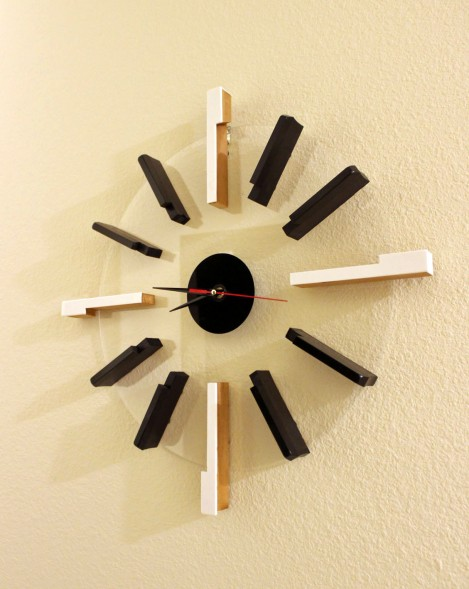 Andante Key Clock, Symmetrical