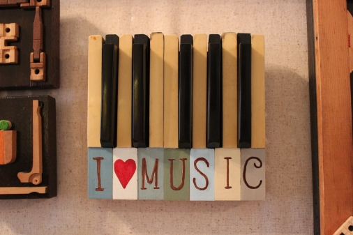 """Love Letters: """"I Love Music"""""""