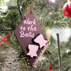 "Ornament: ""Christmas Carols"""