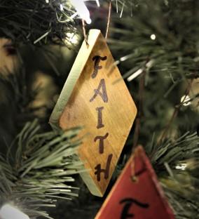 """Ornament: """"Faith"""""""