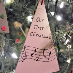 Ornament: Our First Christmas