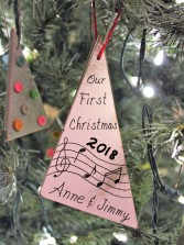 """First Christmas"" ornament"