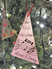 """""""First Christmas"""" ornament"""