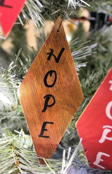 """Ornament: """"Hope"""""""
