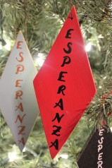 """Ornamento: """"Esperanza"""""""