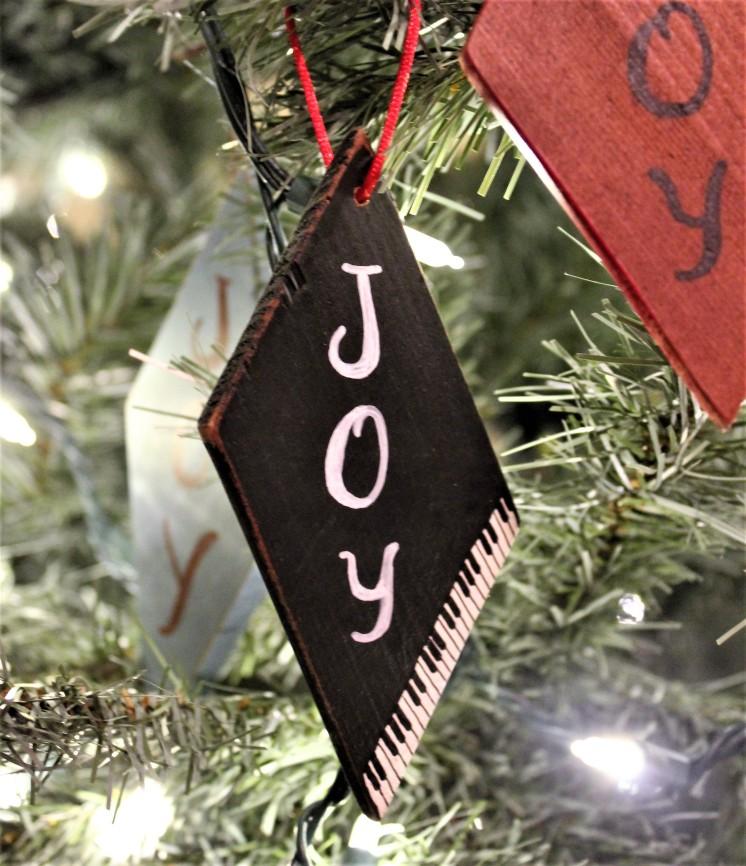 """Ornament: """"Joy"""""""