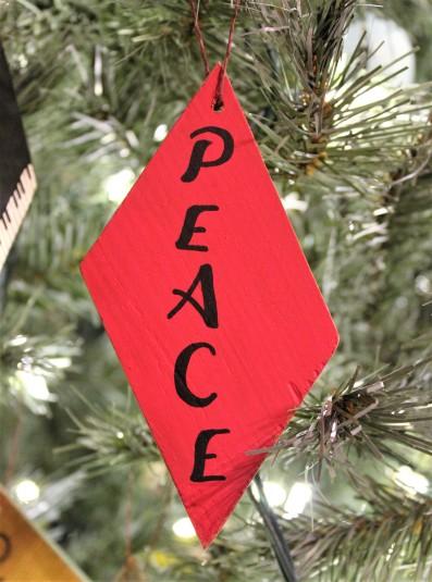"Ornament: ""Peace"""