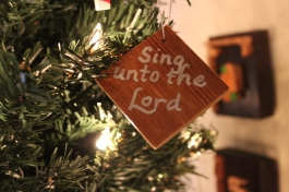 Ornament: Sing unto the Lord