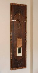 Maestro (Tiger Oak Clock)