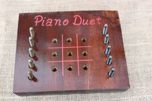 two-player game made from piano pieces