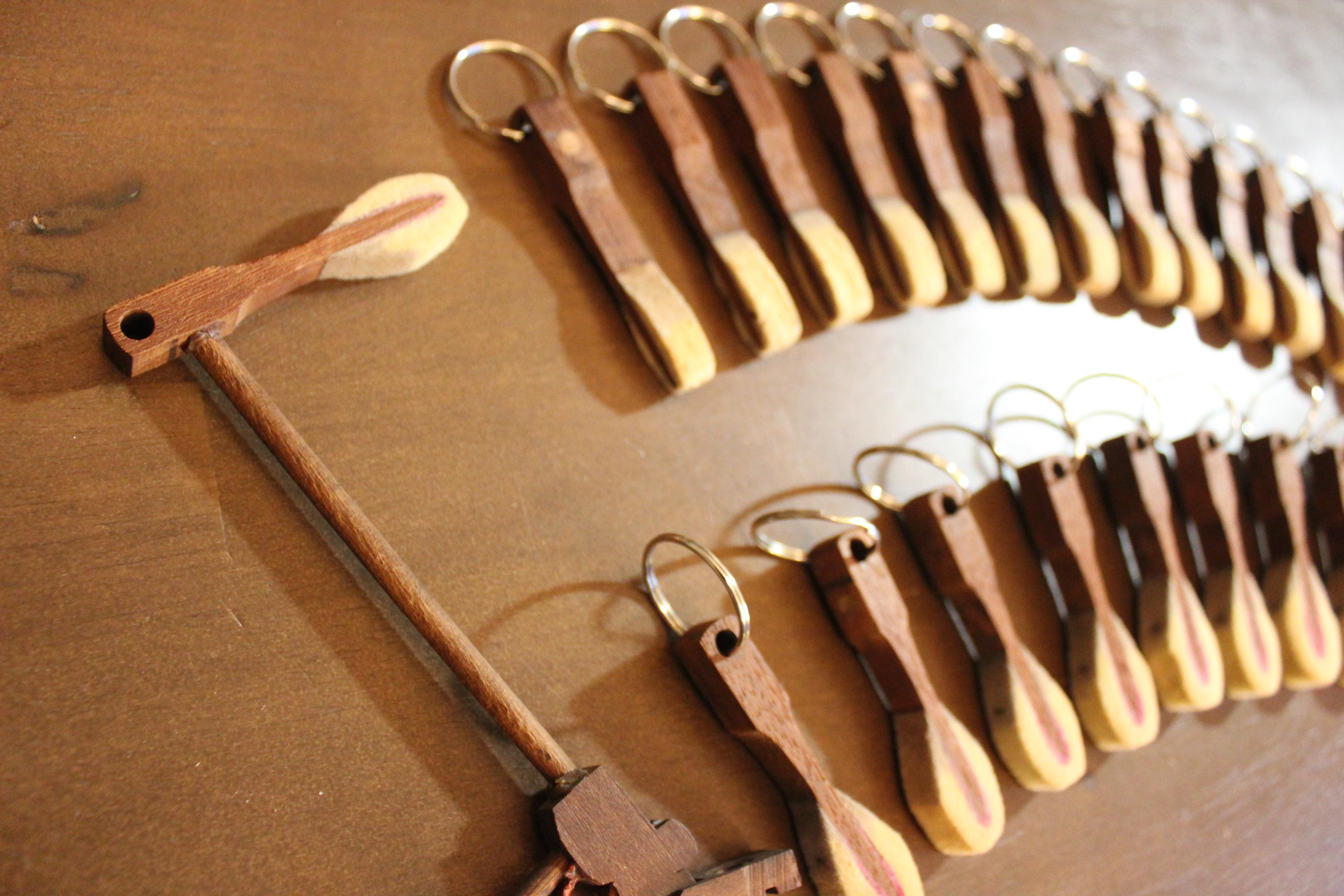 Hammer key chains, Steinway (1)